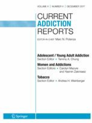 Current Addiction Reports