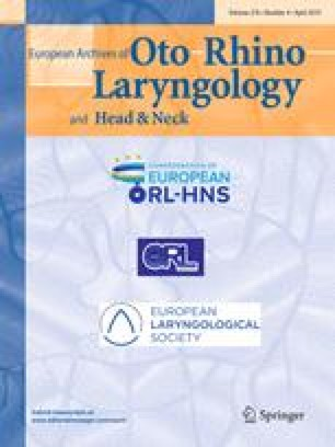 Archives of oto-rhino-laryngology