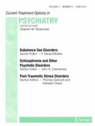 Current Treatments for Delusional Disorder | SpringerLink