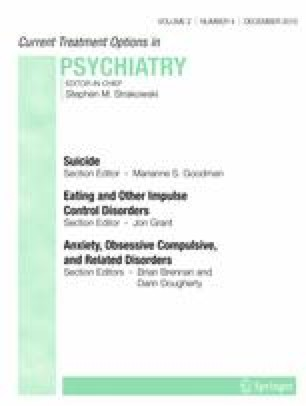 Inpatient Cognitive Behavior Therapy Approaches for Suicide