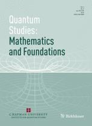 Quantum Studies: Mathematics and Foundations