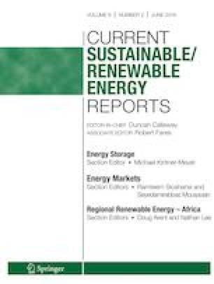 A Review of State-Level Policies on Electrical Energy