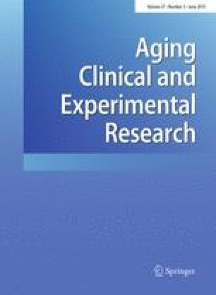 Aging Clinical and Experimental Research - Springer
