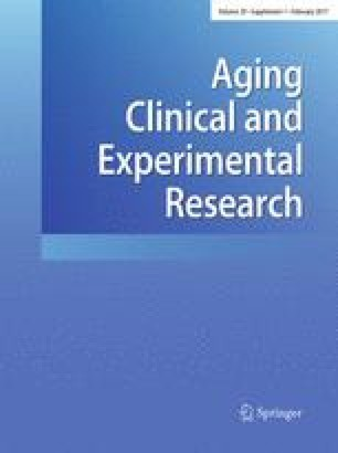 Aging Clinical and Experimental Research