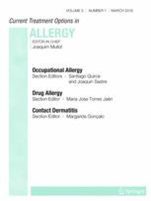 Current Treatment Options in Allergy