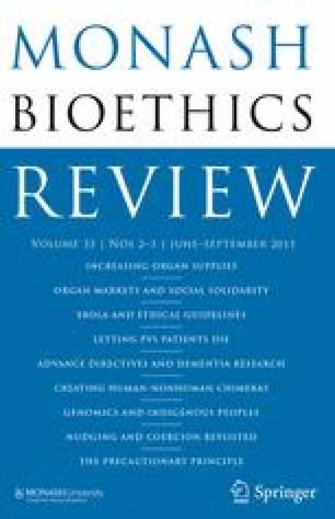 Monash Bioethics Review