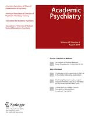 Medical School Electives and Recruitment Into Psychiatry | SpringerLink