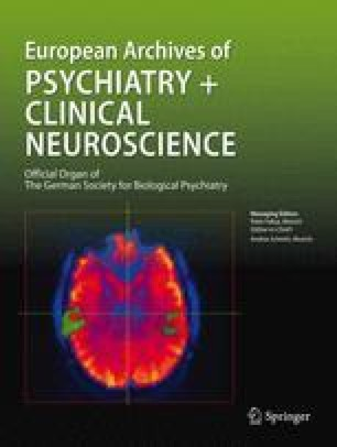 Archiv für Psychiatrie und Nervenkrankheiten