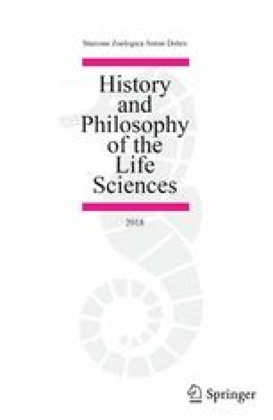 History and Philosophy of the Life Sciences