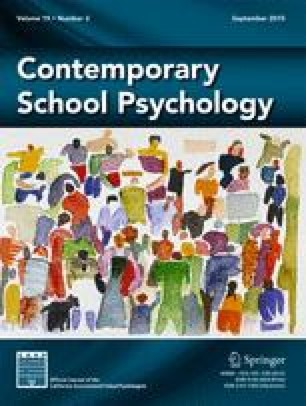 Contemporary School Psychology