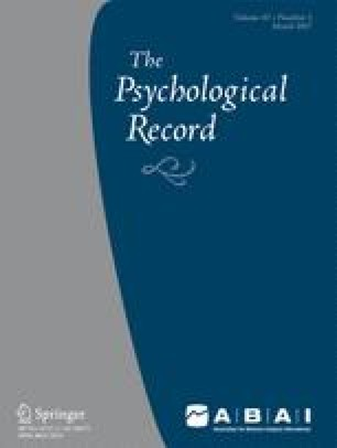 The Psychological Record
