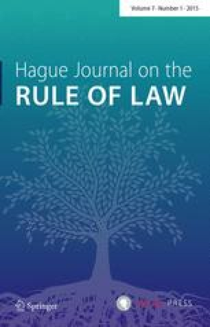 Hague Journal on the Rule of Law - Springer