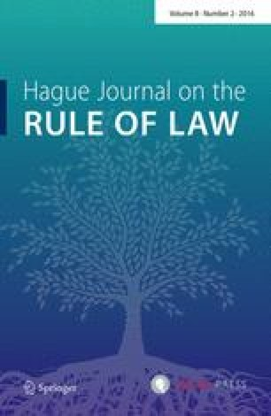 Hague Journal on the Rule of Law