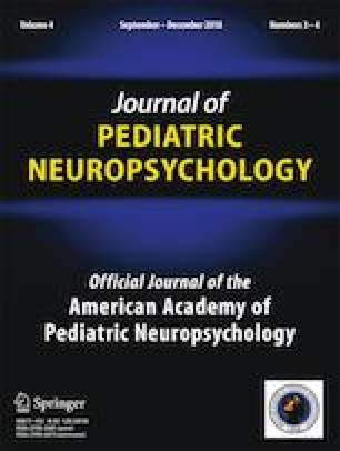 Pediatric Performance Validity Testing: State of the Field and