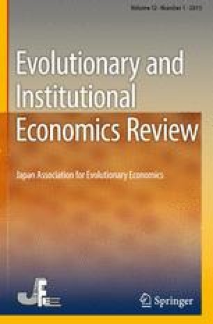 Evolutionary and Institutional Economics Review