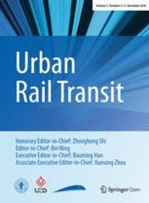 Urban Rail Transit - Springer