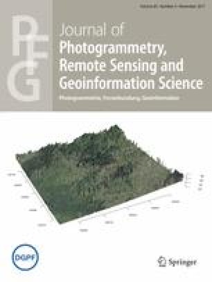 PFG – Journal of Photogrammetry, Remote Sensing and Geoinformation Science