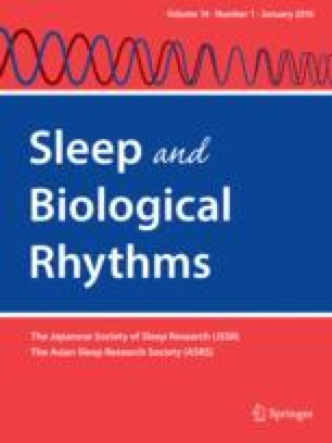 Sleep measurements in women with dysthymic disorder and