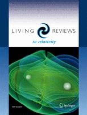 Living Reviews in Relativity