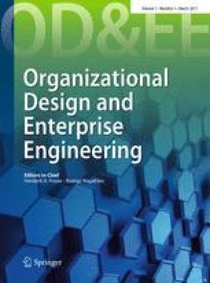 Organizational Design and Enterprise Engineering
