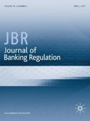 Journal of Banking Regulation