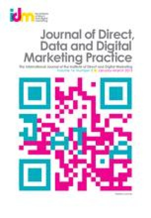 Journal of Direct, Data and Digital Marketing Practice