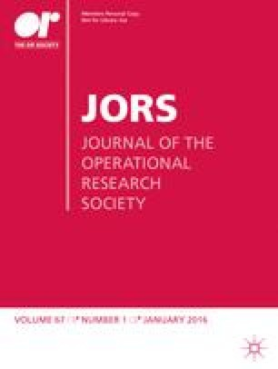 Journal of the Operational Research Society