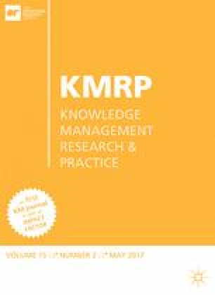 Knowledge Management Research & Practice
