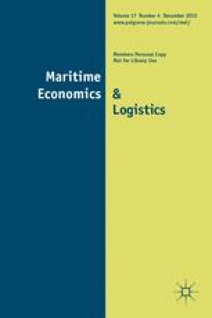 A Scheduling Model for a High Speed Containership Service: A