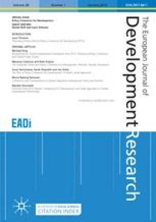 The European Journal of Development Research