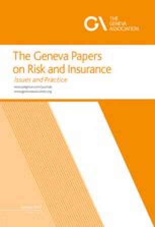 The Geneva Papers on Risk and Insurance - Issues and Practice