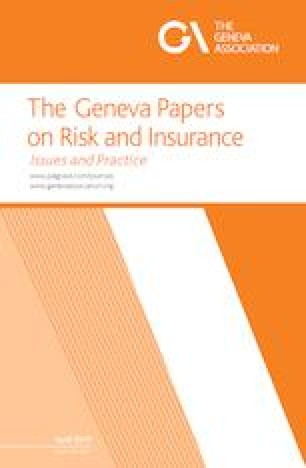 The Geneva Papers on Risk and Insurance - Issues and