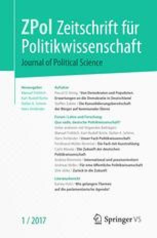 Zeitschrift für Politikwissenschaft
