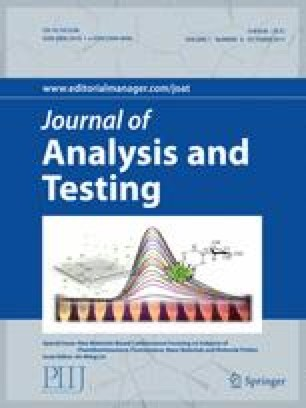 Journal of Analysis and Testing