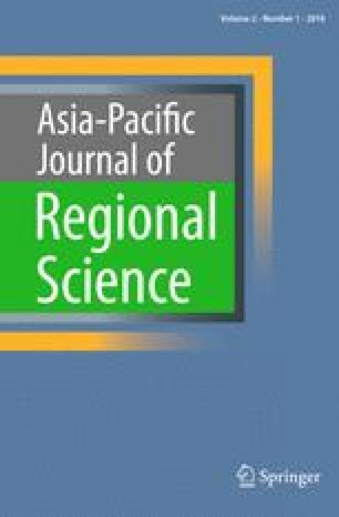 Asia-Pacific Journal of Regional Science