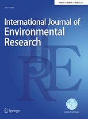 Researchers Publish New Key Parameters >> International Journal Of Environmental Research Springer