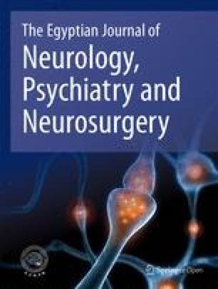 The Egyptian Journal of Neurology, Psychiatry and Neurosurgery
