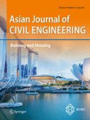 Asian Journal of Civil Engineering
