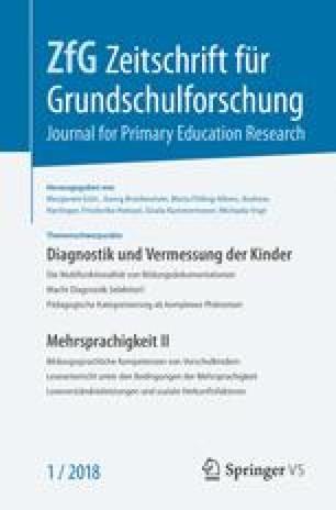 Zeitschrift für Grundschulforschung