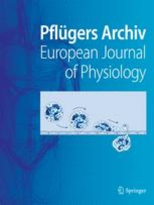 Pflüger's Archiv für die gesamte Physiologie des Menschen und der Tiere
