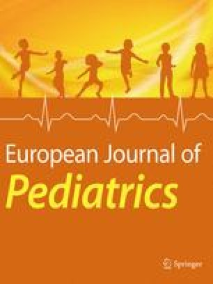 European Journal of Pediatrics