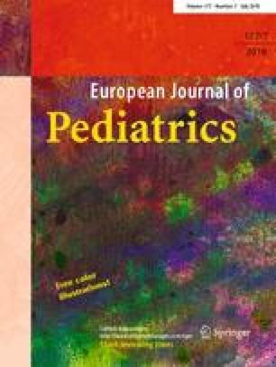 European Journal of Pediatrics