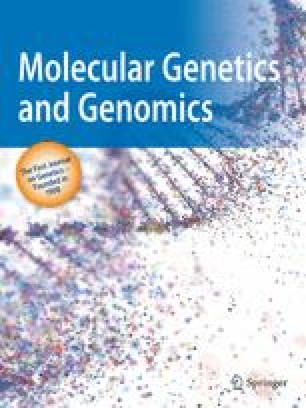 Molecular and General Genetics MGG