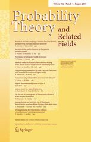 Probability Theory and Related Fields - Springer