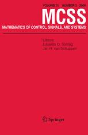 Mathematics of Control, Signals, and Systems