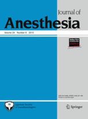 Journal of Anesthesia