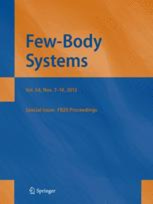 Few-Body Systems