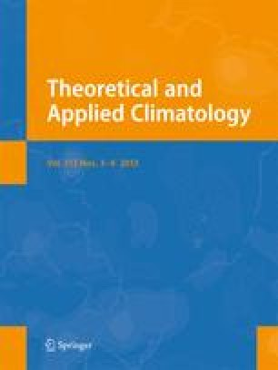 Theoretical and Applied Climatology