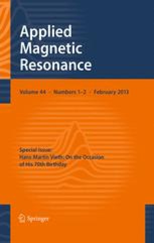 Applied Magnetic Resonance - Springer
