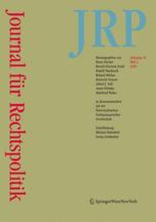 Journal für Rechtspolitik